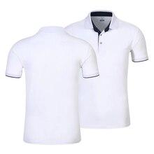 Polo de algodón transpirable con logo personal para hombre, Camiseta deportiva personalizada, para ocio, extra grande, envío directo