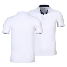 Unisex Polo Sport shirt male lively cotton breathable personal logo Shirts customized Couple leisure extra large dropship