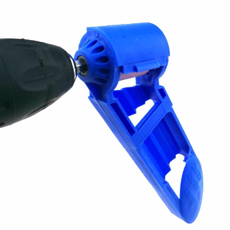 Trapano Temperamatite 2-12.5mm Portatile Punta del trapano Temperamatite Corindone Mola per Utensili per Trapano Temperamatite