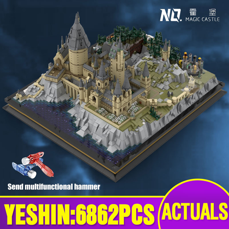 Assembly Castle Building-Blocks Witchcraft Movie Magic 16060 22004 Model Kids Toys Compatible