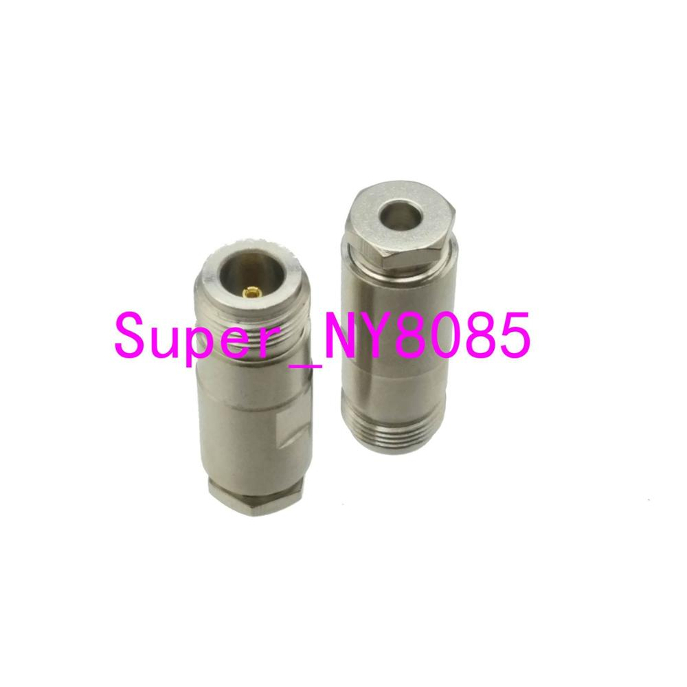 1pce Connector N Female Jack Clamp RG58 RG142 LMR195 RG400 Cable