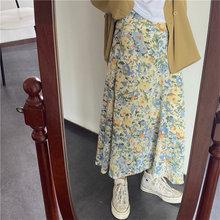 Alien Kitty 2020 Stylish Loose Skirts Chic Women High Waist Summer Print New Fem