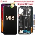 ЖК-дисплей Super Amoled для Xiaomi MI8 MI 8 M1803E1A, сенсорный экран 10 с дигитайзером, сменный экран для Xiaomi MI 8, дисплей