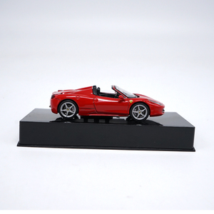 Image 3 - 1:43 High Meticulous Roadster 458 SPIDER Alloy Model Car Static Metal Model Vehicles
