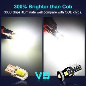 Image 5 - 10 Chiếc T10 W5W Bóng Đèn Led 194 168 3030 Chip Xi Nhan Canbus Lỗi Giá Rẻ Led Đậu Xe Bóng Đèn Tự Động Nêm Thông Đèn 6000K Siêu Sáng Hơn Đèn Led