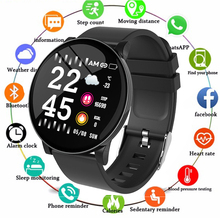 цена на W8 Smart Watch Heart Rate Monitor Weather Forecast Fitness Watch Call Reminder Waterproof Bluetooth Smart Band S9 Watch Men