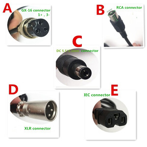 Image 4 - Chargeur de batterie 58.8V 3A pour 14S 48V Li ion batterie vélo électrique chargeur de batterie au lithium de haute qualité forte avec ventilateur de refroidissement