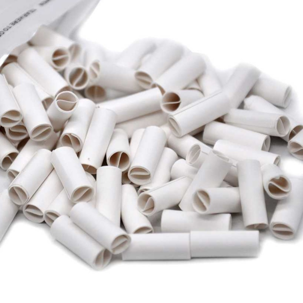 150Pcs 6MM Natural Unrefined Pre-rolled Tips Cigarette Filter Rolling Paper For Hand Rolled Cigarettes 2018 Hot Sale