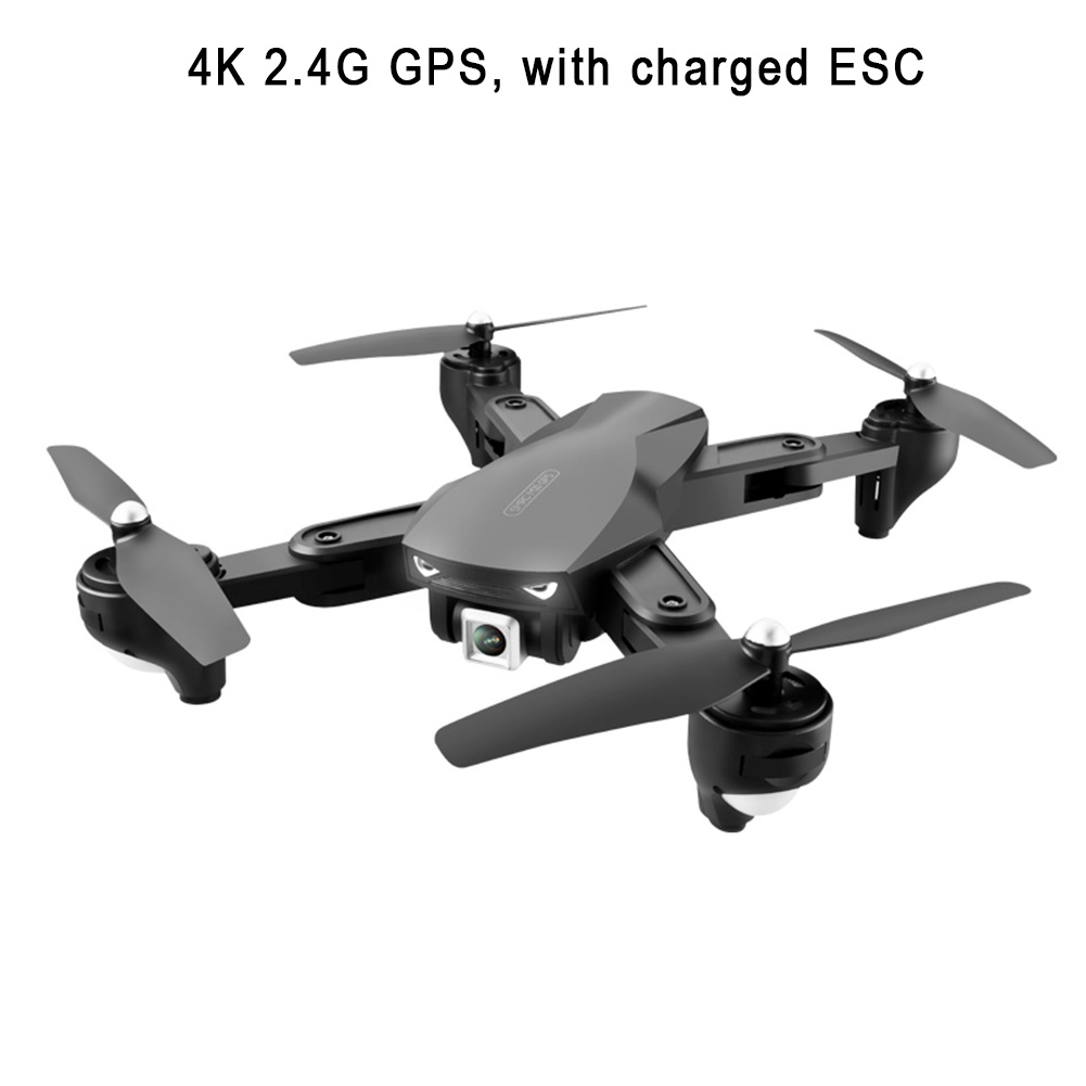 Wide Angle 3D Flips Altitude Hold Outdoor Mini Portable Trajectory Flight HD Camera Voice Control FPV WiFi GPS Foldable Drone