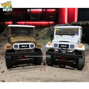 Image 5 - WPL 1 C44KM 1:16 金属組立キットモーターサーボ 4WD クライミングオフロード RC トラック DIY アクセサリー修正されたアップグレード少年のおもちゃ
