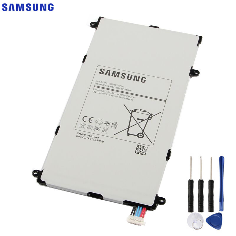 Original Replacement Samsung Battery For Galaxy Tab Pro 8.4 in T325 T320 T321 SM T321 T4800E T4800C T4800K T4800U 4800mAh|Mobile Phone Batteries| |  - title=