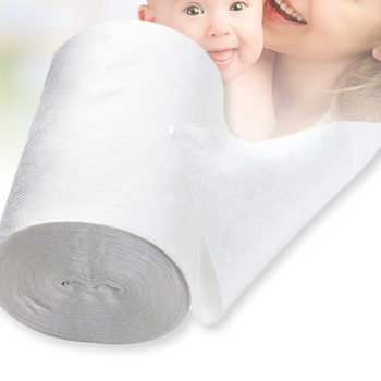 100 Sheets/ Roll Baby Flushable Biodegradable Disposable Cloth Nappy Diaper Bamboo Liners 18cmx30cm