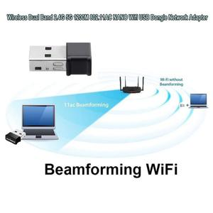 Image 4 - AMKLE 1200Mbps Wireless USB Wifi Adapter Lan USB Ethernet 2.4G 5G Dual Band USB Network Card Wifi Dongle 802.11n/g/a/ac