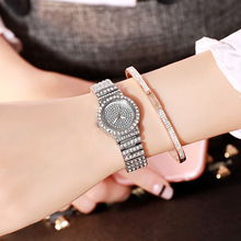 цена на luxury Brand small Rhinestone Women Stainless Steel Casual Watch Simple Female Quartz Clock Hours Ladies gold Dress Wristwatch