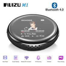 Mp3-Player Bluetooth RUIZU Speaker-Support Recording FM Mini Portable 8GB M1 with Built-In