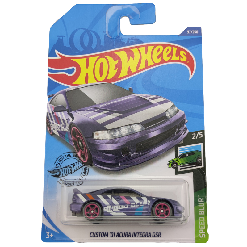 2020-97 Hot Wheels 1:64 Car CUSTOM01 ACURA INTEGRA GSRMetal Diecast Model Car Kids Toys Gift