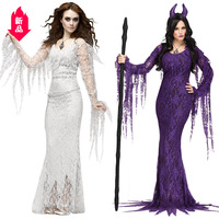 Halloween horror tree demon cosplay role playing ghost bride costume vampire Easter devil costume