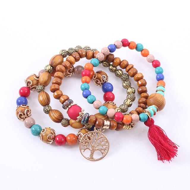 Rose sisi jewelry friends bohemian bracelets for women bracelet natural stone bracelet Fashion ladies clothing accessories 5