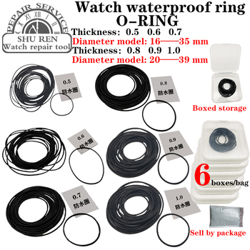 Watch gasket,Thickness 0.5/0.6/0.7/0.8/0.9/1.0mm, watch waterproof ring, O-RING, o-ring,o-ring gasket,ring - sale item Watches Accessories