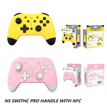 For NS Switch Pro Controller NFC Joystick Wireless Game Controller Remote Gamepad