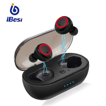 TWS Wireless Bluetooth Earphone 5.0 Mini Wireless Headphones Sports Earbuds In-ear Waterproof Gaming Headset with Mic for Xiaomi