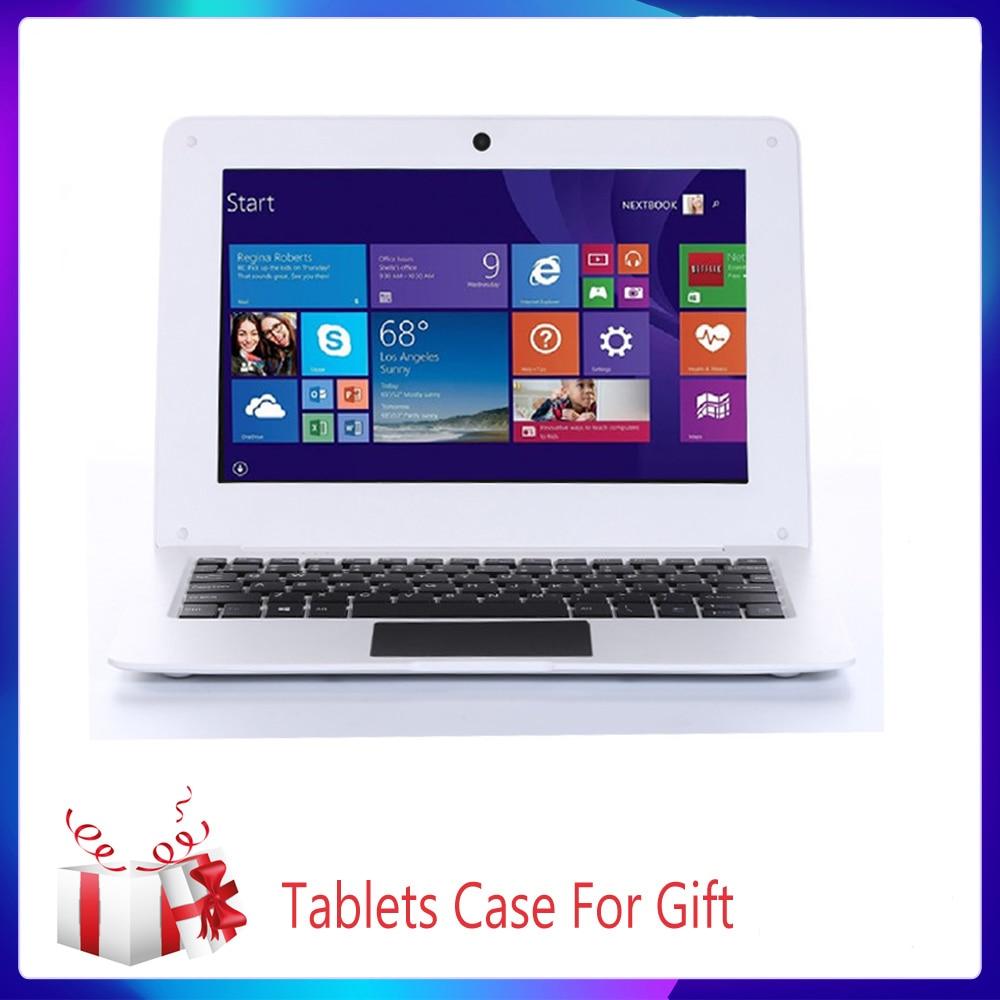 10.1 inch Ultrathin Netbook Hd Lightweight and Ultra-Thin 4GB+64GGB Lapbook Laptop Intel N3350 64G-Bit Quad Core Windows Netbook