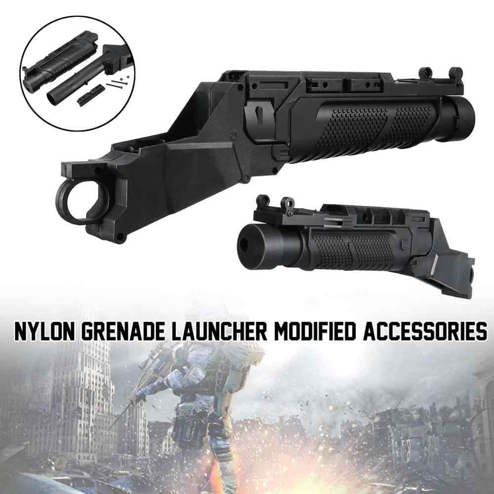 Para jinming m4 lançador de garra, acessórios de nylon gel, bola bla ster, brinquedo, água, gu n, 20mm rail