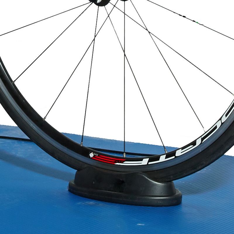 Front Wheel Pad Bicycle Block Riser Support Black Pad Turbo Trainer Cycling Bike