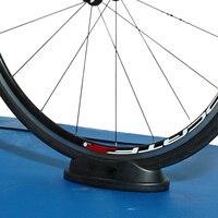 1Pc Bike Vorderrad Pad für Indoor Trainer Reiten Anti slip Rad Halterung Unterstützung Block Für Turbo trainer Bike Zubehör-in Fahrrad-Rollentrainer aus Sport und Unterhaltung bei