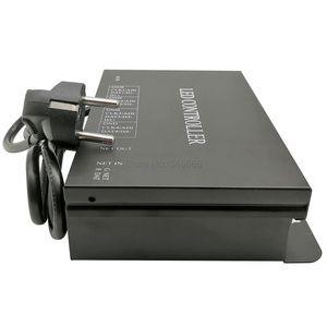 Image 5 - H802RA 4 منافذ (4096 بكسل) Artnet تحكم DMX Artnet تحكم WS2801 WS2811 Artnet مادريكس وحدة تحكم في البكسل مصباح ليد