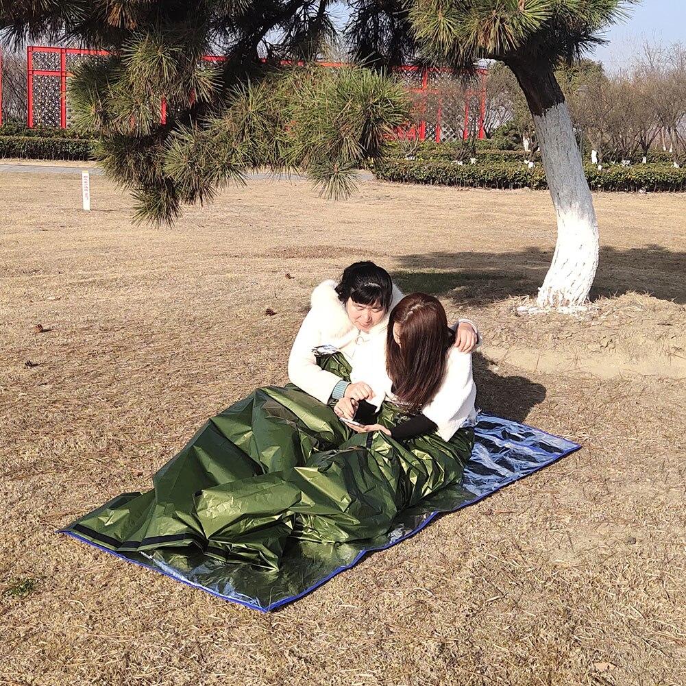 Waterproof Lightweight Thermal Emergency Sleeping Bag Outdoor Survival Tools