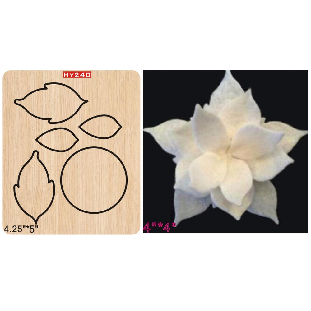 White Lotus  2019 New Wooden Mould Cutting Dies For Scrapbooking Thickness/15.8mm