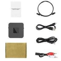 Portable Bluetooth 5.0 CSR8670 Aptx Low Latency 3.5Mm RCA SPDIF Optical Transmitter Receiver Wireless Audio Music TV Adapter|DAC|   -