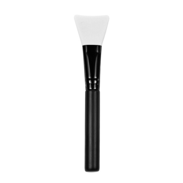 Women Fashion 1pc Silicone Facial Face Mask Brush Mask Mud Mixing Brush Tool 5 Color Soft Women Skin Face Care tool 5