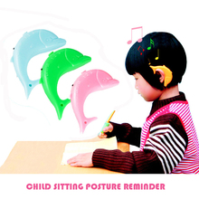 Kids sounds sitting posture corrector when reading and writing,Adjustable Anti-myopia Support Brace,blue pink available