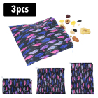3PCS Reusable Snack ...