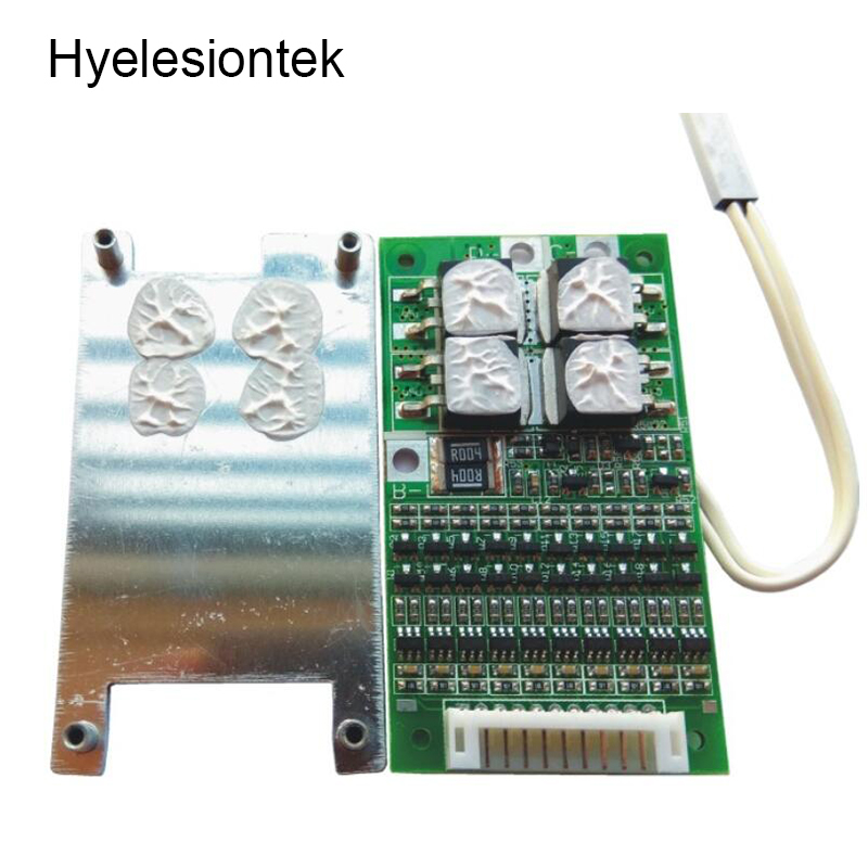 10S BMS 30A 36V Balancer PCM BMS 10S Balance Charging Board Separate Port 18650 Li-ion Lithium Battery Protection Circuit Board