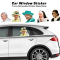 Знаменитый людей окна автомобиля наклейки смешные автомобильные наклейки автомобильное окно Стекло наклейки