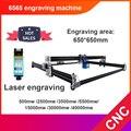 CNC 6565 Woodworking Engraving Machine & Laser Engraving Machine DIY Mini CNC Machine Milling Machine