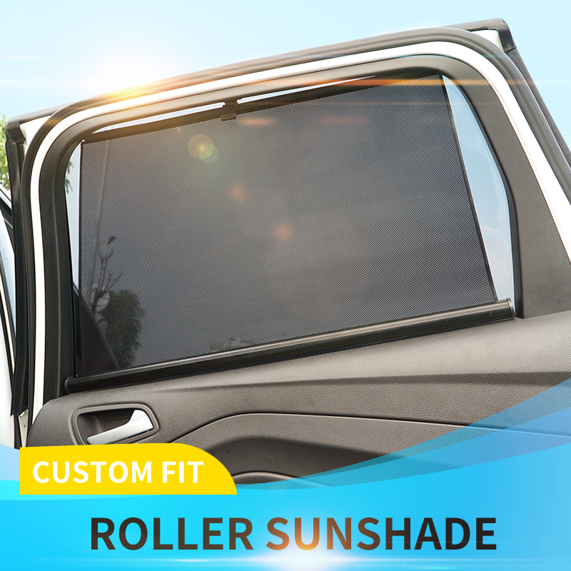 Car Accessories 2 X Car Window Sun Shade Children Protector Roller Blind Screen Suction Fixings Vehicle Parts Accessories Visitestartit Com