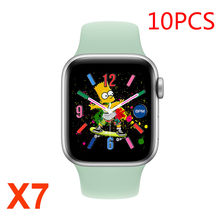 IWO-reloj inteligente X7 Serie 6, con llamadas, Bluetooth, rastreador deportivo de ritmo cardíaco, para Android, 10 Uds.