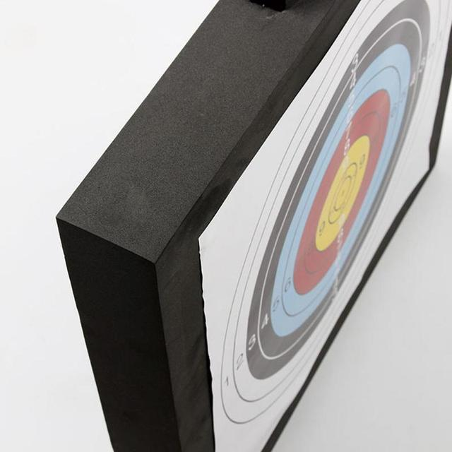 1Pcs 50*50*5cm Archery Target High Density EVA Foam Shooting Practice Board Indoor and Outdoor Sports Hunting Accessories 5