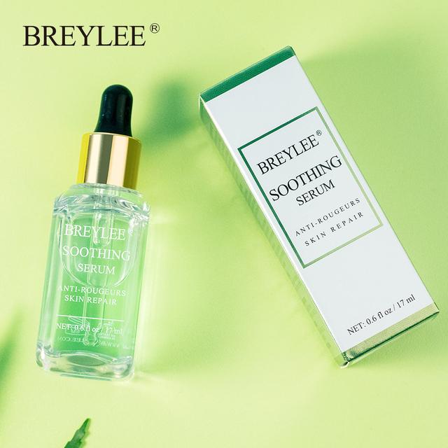 BREYLEE Soothing Repairing Face Serum  Remove Redness Face Skin Care Repair Sensitive Skin  Removal Snail Beauty Acne Scar 10PCS