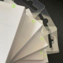1000 Cái/lốc 1M/3ft Chất Lượng Cao OEM OD:3.0Mm Dữ Liệu USB Sạc Cáp Mới Bao Bì Bán Lẻ Xanh Lable
