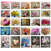 GATYZTORY Frame DIY Painting By Numbers Flowers acrylic paint by number kits Oil Paint By Numbers For Home Decors Gift