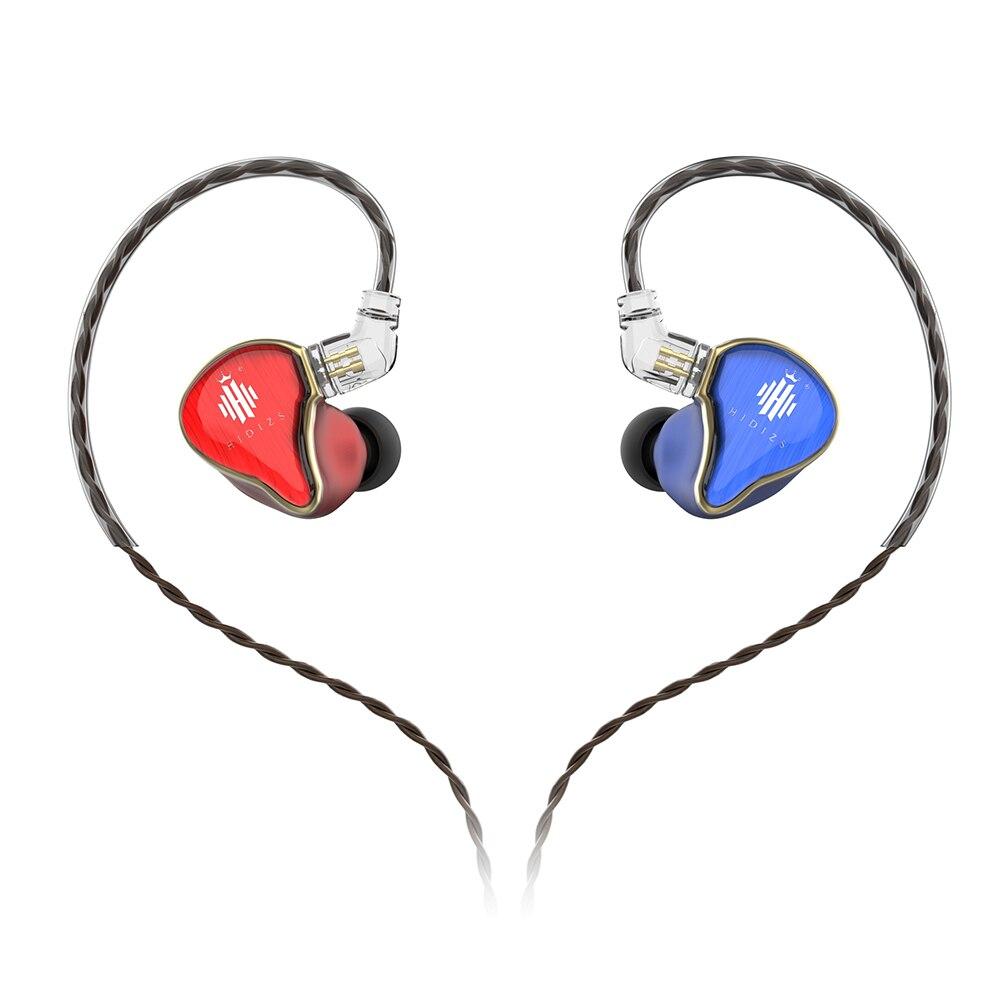 Hidizs MS4 Наушники HiFi в ухо наушник ИЭМ с 2-Штекерн 0.78 съемный кабель гибридный драйвер мм (3 Ноулз БА+1 ДД)
