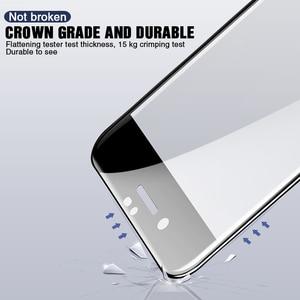 Image 3 - 100D vetro di Protezione su Per il iphone 7 8 6 6S Plus 5 SE Per il iphone X XR XS Max protezione dello schermo In vetro Temperato su iPhone 7 pellicola