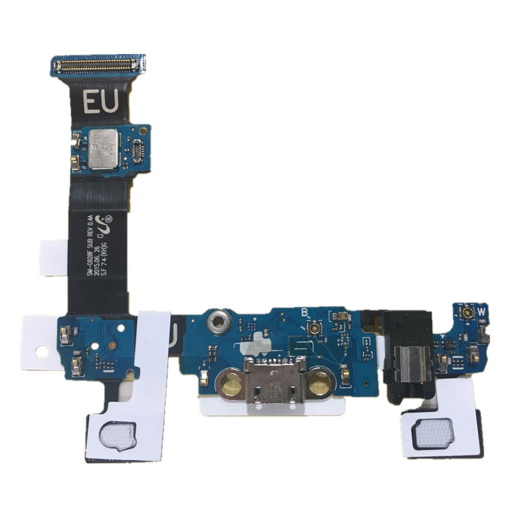 Charge Charging Port Dock Connector Flex Cable For Samsung Galaxy S6 Edge Plus S6 Edge+ Europe SM-G928F G928A Repair Parts