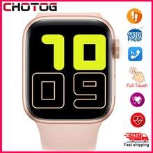 2020 Smart Watch Men Full Touch Waterproof Smartwatch Blood Pressure Fitness Tracker Watch Women WhatsApp Clock For Android IOS