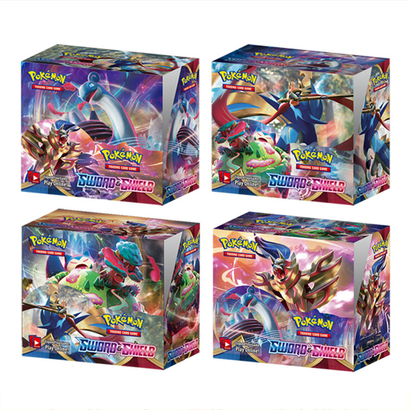 2020 Latest 324Pcs Pokemon Sword & Shield English Cards Trade Game Card Collection Toys